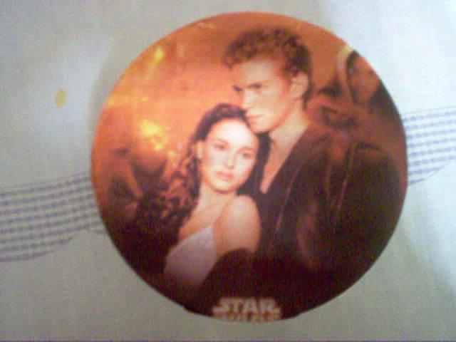Scatola di latta con i temi di Star Wars