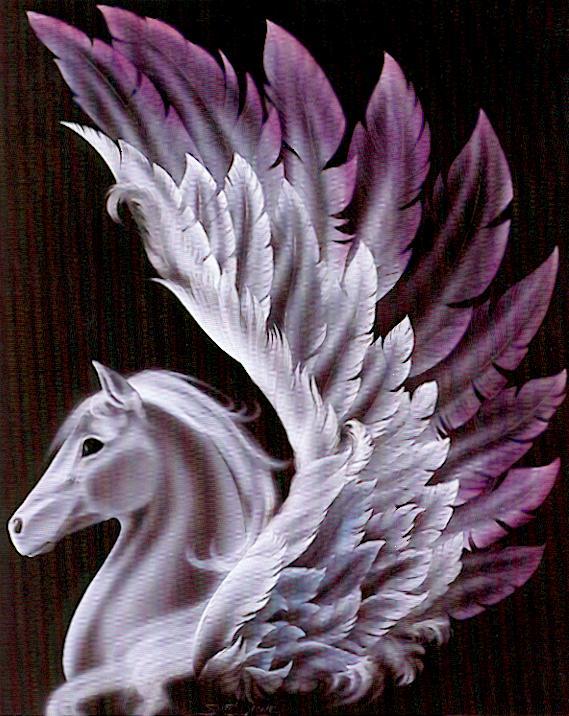 Pegasus and Medusa